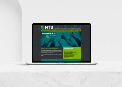 NTS Events Management Site