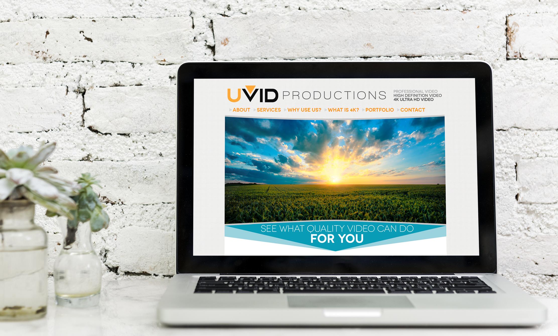 UVID Website Screenshot